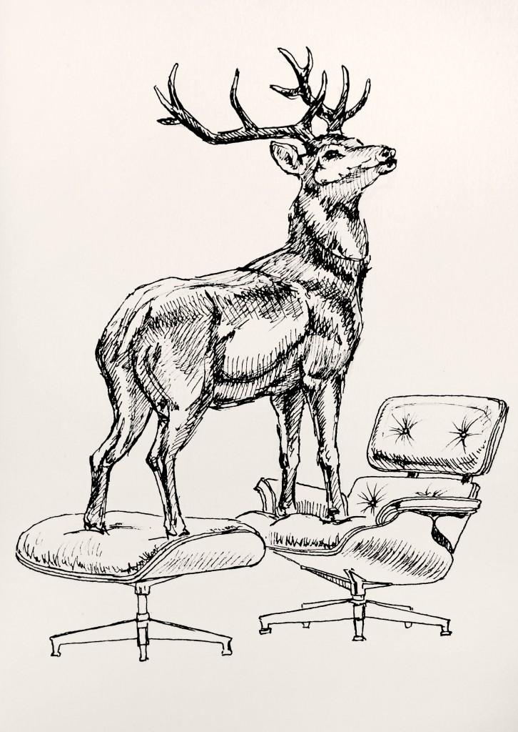HL JR Deer by Inessa Demidova