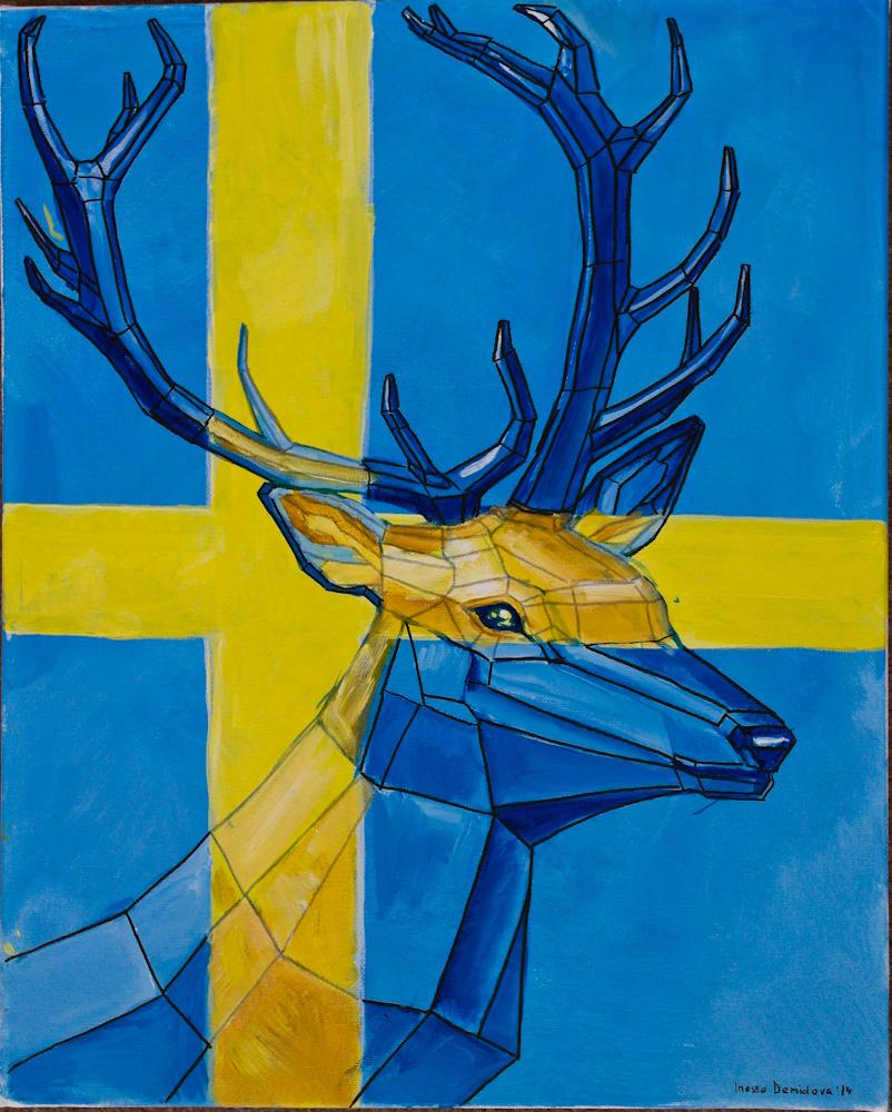 Hej, Nordic deer