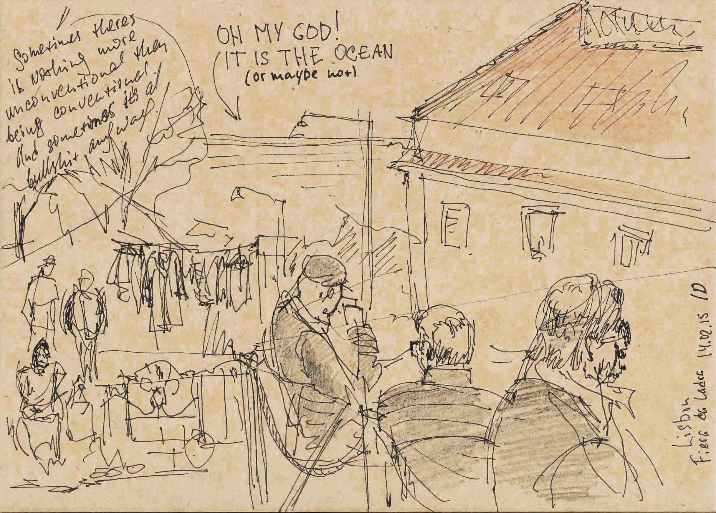 Lisbon sketchbook