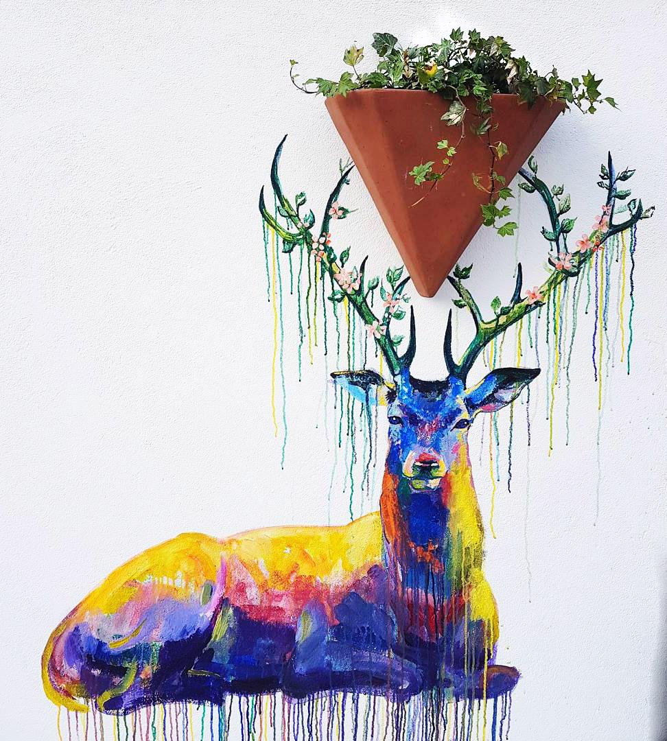 Novikov Roof deer